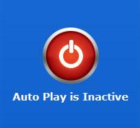 bingo cabin autodaub autoplay button