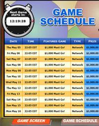 bingo cabin mega bingo network bingo game schedule
