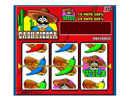 bingo cabin cash fiesta 3 reel online slots game