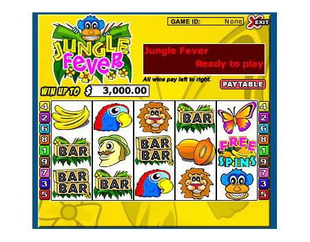 bingo cabin jungle fever 5 reel online slots game