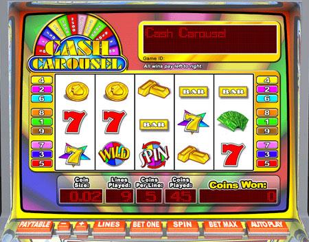 bingo cabin cash carousel 5 reel online slots game