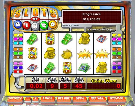 bingo cabin slots of bingo 5 reel online slots game